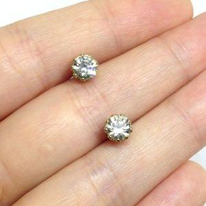 💗🎉LAST CHANCE 🎉 Earrings Gold Faux Diamond